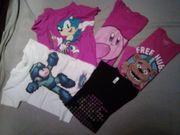 5 T-Shirts Sonic Super Mario