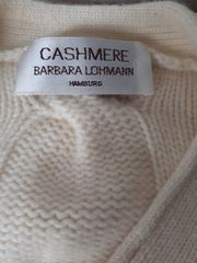 Barbara Lohmann Casmere Pullover Gr