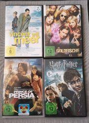 4x DVD je 2 Euro