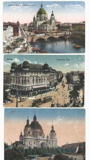 Postkarten Berlin 1921 1926