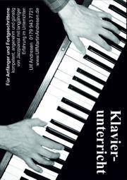 Klavierunterricht - kostenlose Probestunde