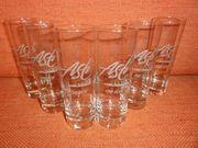 6 Gläser Asti Cinzano on