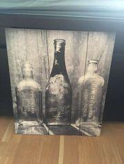 Bild mit Flaschenmotiv