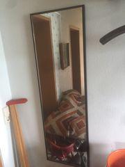 Garderobe Spiegel Hutablage Sideboard schwarz