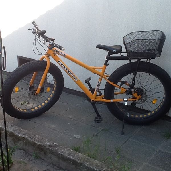 Galano FAT-Bike - Fatman - Unisex - Rahmengröße M