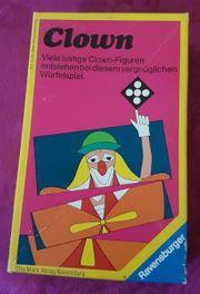 Altes Ravensburger Spiel 1975 Clown-Viele