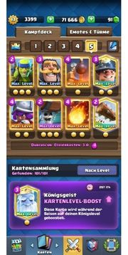 Full Maxed Clash Royale Account