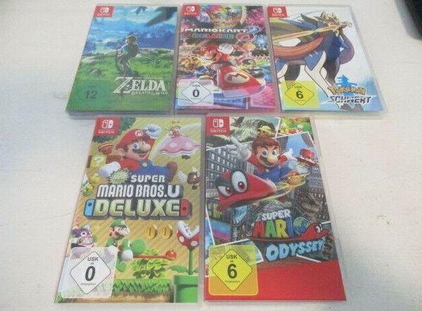 Nintendo Switch Spielesammlung