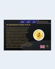 Goldmünze zum Tod von Prinz