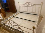 Bett 180x200cm mit 2x Lattenrosten