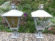 Schmiedeeiserne Gartenlampen Laternen 2 Stück