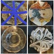 Diverse Obstschalen Schalen Platte Kuchenplatte