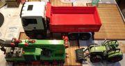 Playmobil Kran und Traktor Bruder