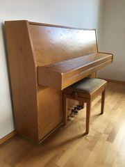 Klavier Samick Eiche natur