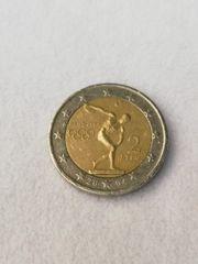 UMLAUFMÜNZE Euro 2 -- Athen
