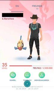 Pokemon Go Account Level 35