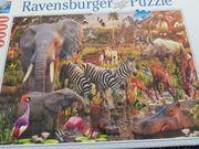 Puzzle Ravensburger Afrikanische Tierwelt 3000