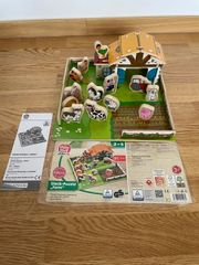 Echtholz Steck Puzzle Farm