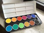 Neuer Farbkasten Malkasten