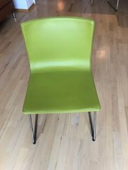 Ikea Stuhl Bernhard grün
