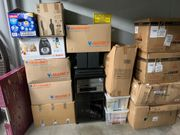 22 Kartons mit Flohmarkt Artikel