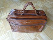 Vintage - Tasche kleine Reisetasche Aktentasche