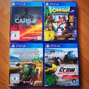 4x PS4 Spiele
