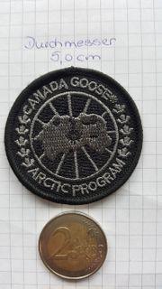 Black Canada Goose Patch Aufnäher