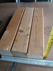 3x Kantholz 45x45 mm