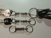 2 Schlüssel-Bund-Trenner Zündschlüssel Motorrad Auto