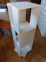 Schreibtisch inkl Drehregal für Ordner