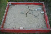 Sandkasten Sandkiste mit 3 cbm