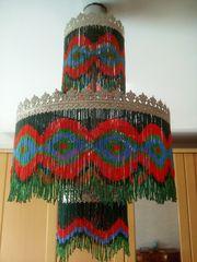 Orientalische Decken Lampe 80er Rarität