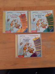 3 CD s Hörgeschichten