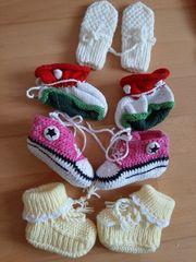 Babyschuhe Handschuhe