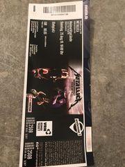 Stehplatzkarte Metallica 25 08 Mannheim