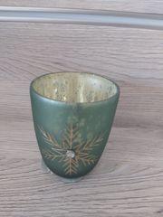 Boltze Corfe Teelichthalter Stern grün