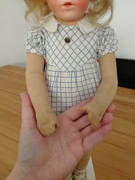Antike Käthe Kathe Kruse Brustblatt-Puppe: Kleinanzeigen aus Essen Innenstadt - Rubrik Puppen