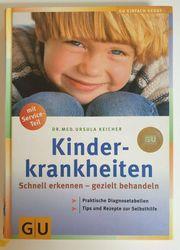 Buch Kinderkrankeiten GU-Verlag wie Neu
