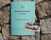 Betriebsanleitung Mercedes 190b 1959 W121