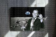 FRANK SINATRA auf dem Mond