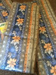 Polsterauflagen neu für Gartenstühle und
