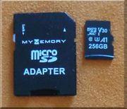 Micro-SD-Karte 256 GB V30 PRO