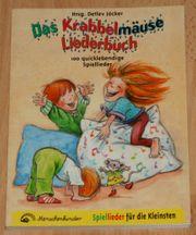 NEU - Das Krabbelmäuse Liederbuch - Spiel