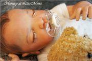 AMELIA 50 cm Babyausstattung REBORN-Puppe