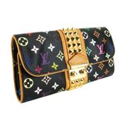 LOUIS VUITTON - BLACK MONOGRAM MULTICOLOR