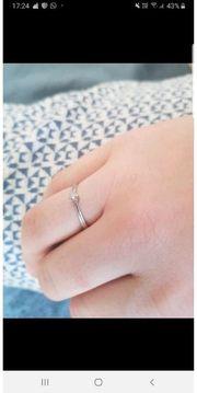 Weißgold Diamant Ring