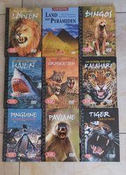 9x DVD Video Tiere