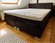 Boxspringbett 180x200cm Neuwertig Doppelbett inklusive