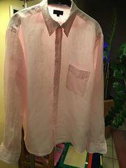 Herrenhemd Gant rosa gestreift Gr